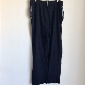 Too Loud Pants - Too Loud Black Pants With Gray Accents Size 2XL